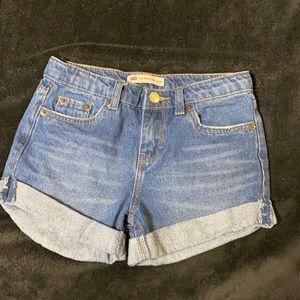 Little girls Levi shorts